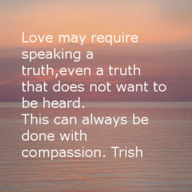 Counseling,Mindfulness; What love may require