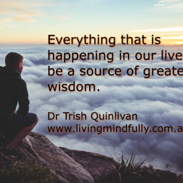 Life is guiding us towards deeper wisdom and love