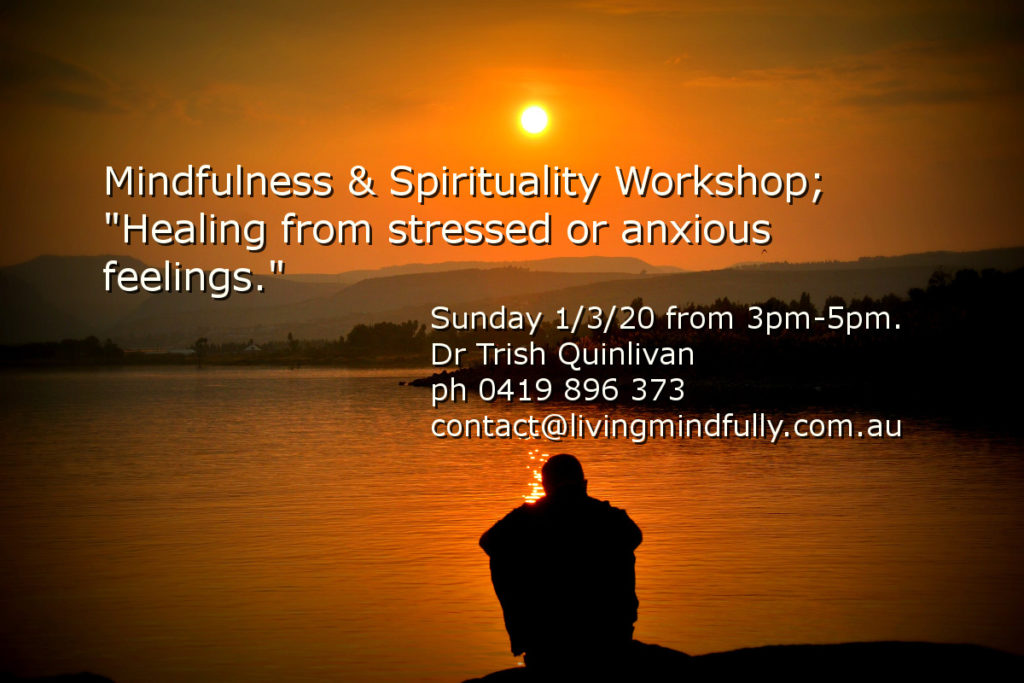 healing from stress or anxiety